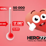 6000 more people decide to be heroes through Hero777 in 3 months!