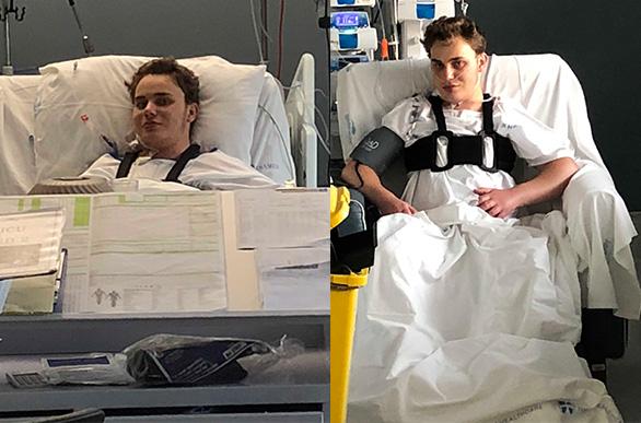 Matthew's Transplant T + 7 and 8