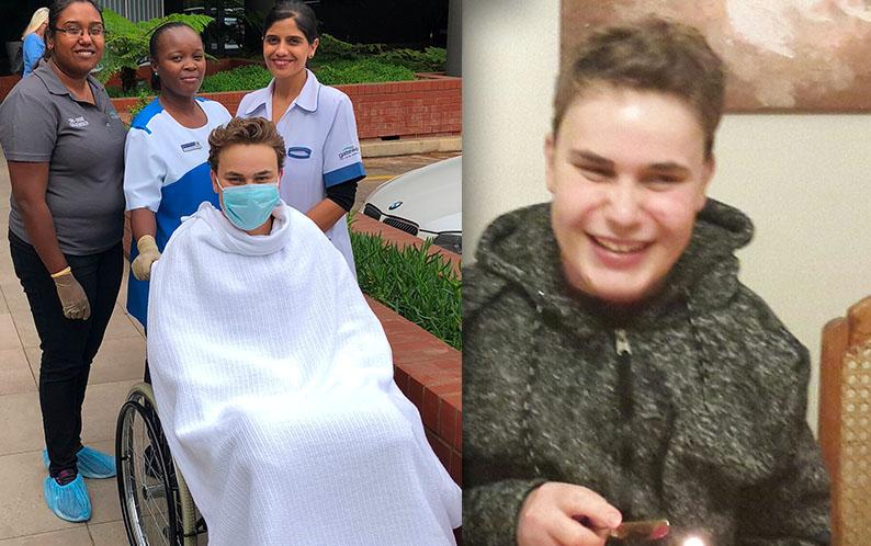 Matthew's Transplant Story Day T+17– T+19