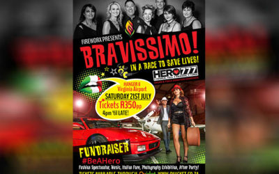 "FIREWORX presents ""BRAVISSIMO!"" – A Heart warming Fundraiser for HERO777"
