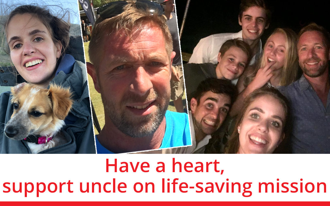 Have a heart, support uncle on life-saving mission